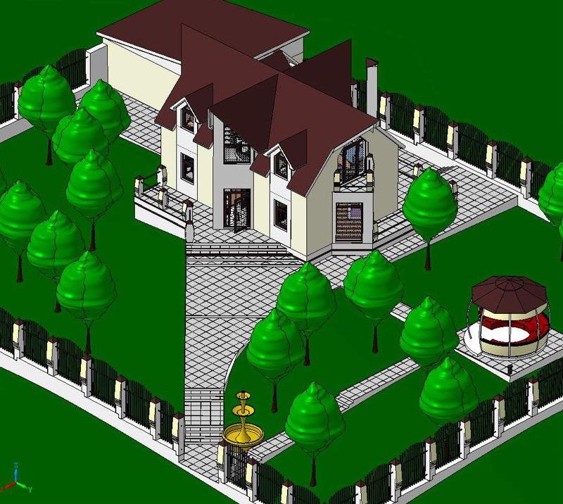 Как сделать проект дома в компасе - OndoShop.ru