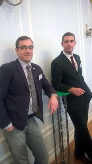Бойцы-конструкторы АСКОН Дмитрий Гинда и Денис Стаценко
